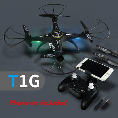 Ninja Dragons T1 WiFi Remote Control Quadcopter Headless Drone with Camera