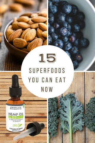 15 Superfoods You Can Eat Now