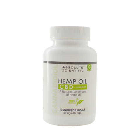 Hemp Oil CBD Capsules