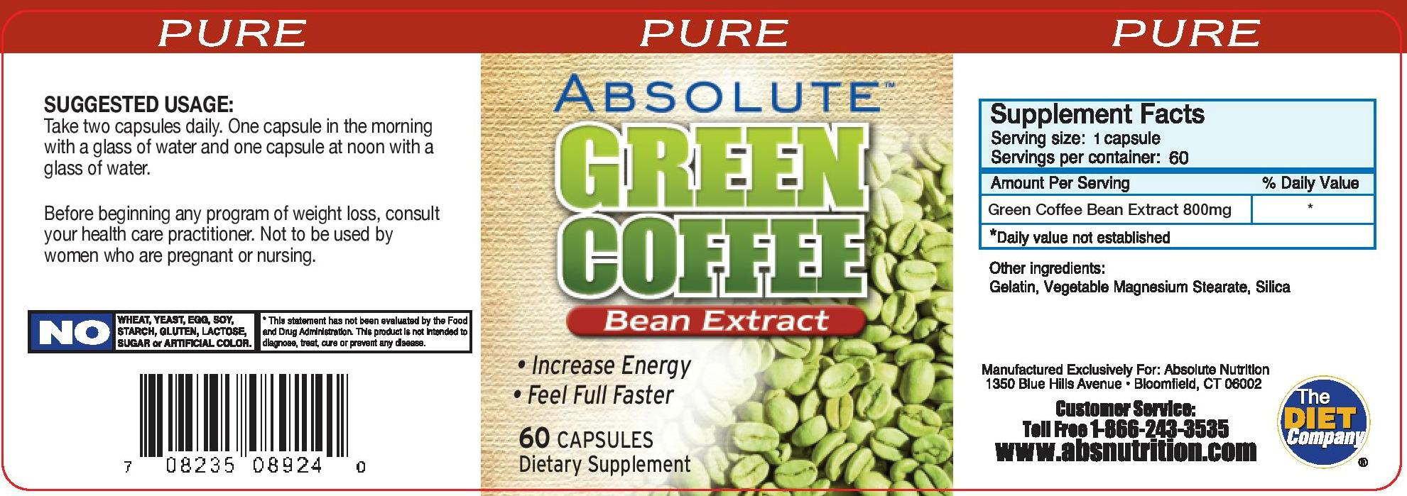 Svetol Green Coffee Bean Extract Green Coffee Bean Extract