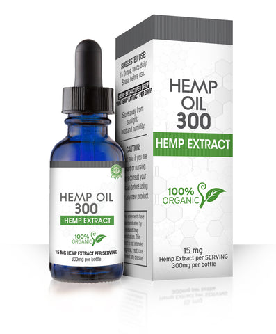 Hemp Oil 300 Dropper