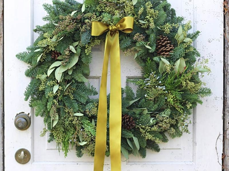 Make your own Holiday Wreath - Sunday, Nov 25