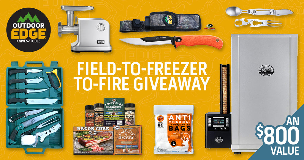 Field-to-Freezer-to-Fire Giveaway