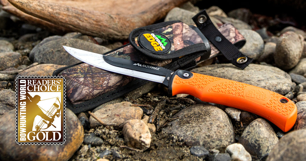 Outdoor Edge Wins Bowhunting World Readers' Choice Gold