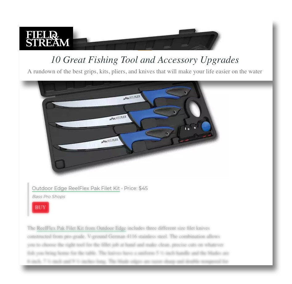 """A rundown of the best... knives that will make your life easier on the water""."