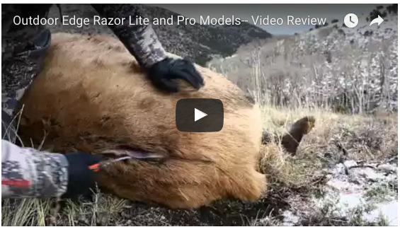 Sportsman's News Video Product Review: Outdoor Edge Razor-Lite
