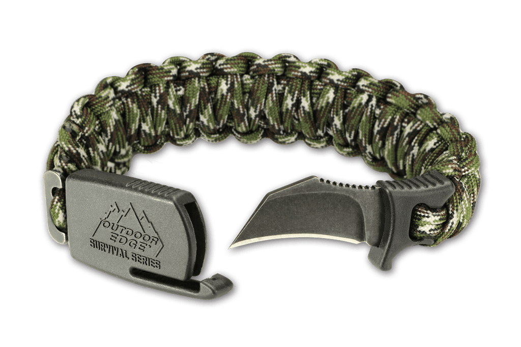 Para Claw Paracord Bracelet Tactical Knife Outdoor Edge