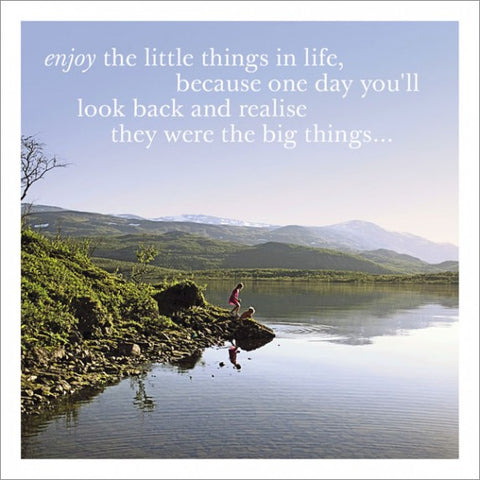 Little Things In life...
