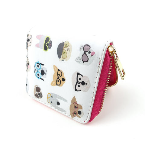 Tail Wagger Dog Print Wallet