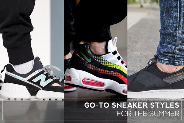 Go-To Sneaker Styles for the Summer