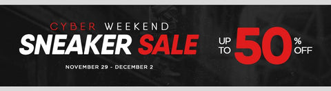 Cyber Weekend Sneaker Sale