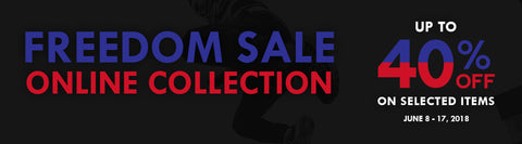 Freedom Collection 40% OFF