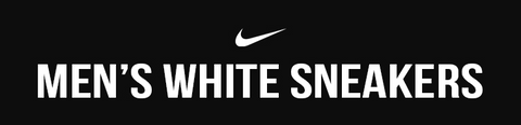 Nike Men's White Sneakers
