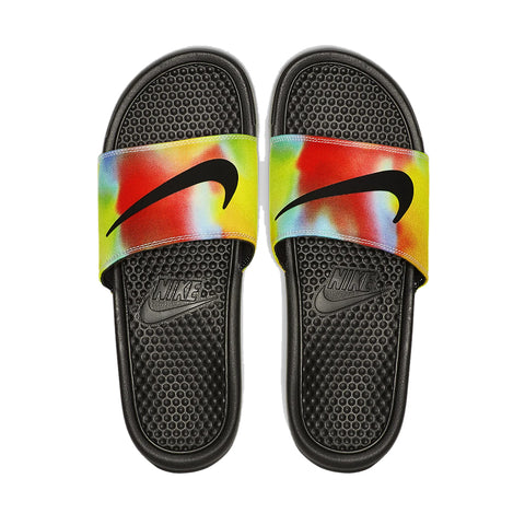 Nike Benassi Just Do It Black Slides