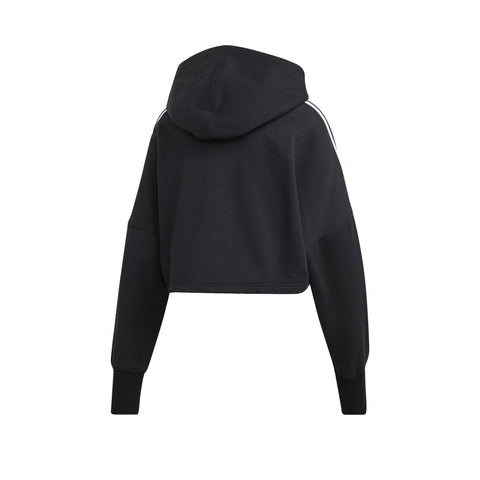 ADIDAS WOMEN'S CROPPED HOODIE