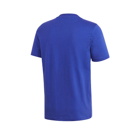 ADIDAS MEN'S TREFOIL LOGO OUTLINE TEE