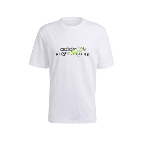 ADIDAS MEN'S ADVENTURE BIG LOGO TEE