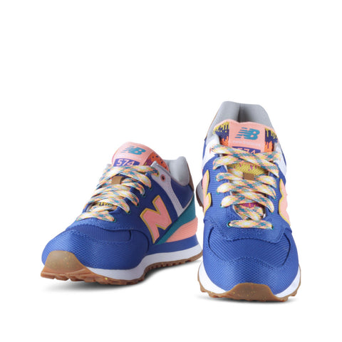 New Balance Explorer Pack 574 Women's Blue Shoes