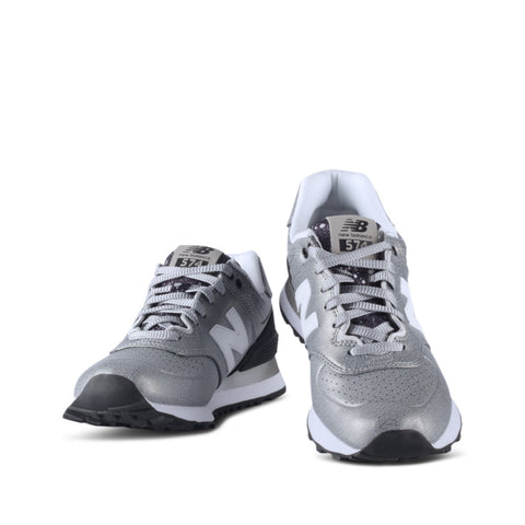 New Balance LFS 574 Radiant Women's Silver Shoes