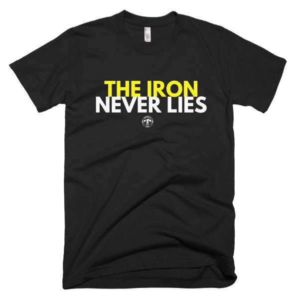 Iron Weightlifter men's t-shirt