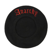 Black Anarchy Beret
