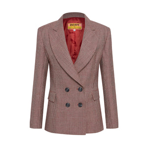 Red Civilised Blazer