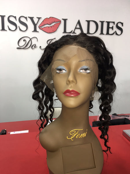 'Loose Wave' 360 Lace Closure