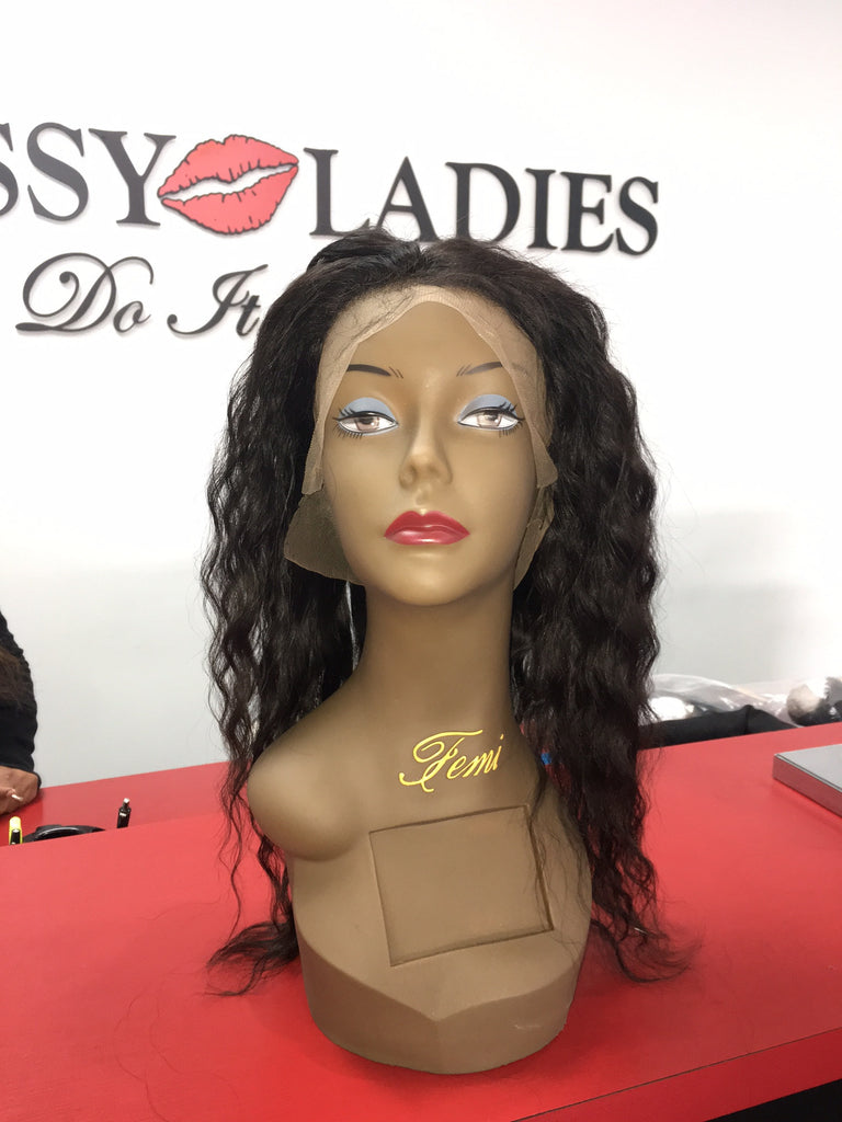 'Natural Wave' 360 Lace Closure