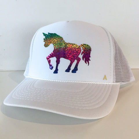 Rainbow Unicorn White