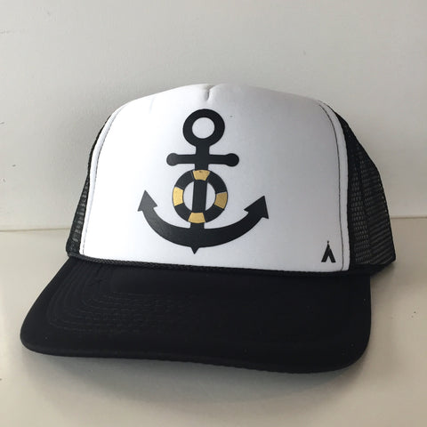 Anchor White Black