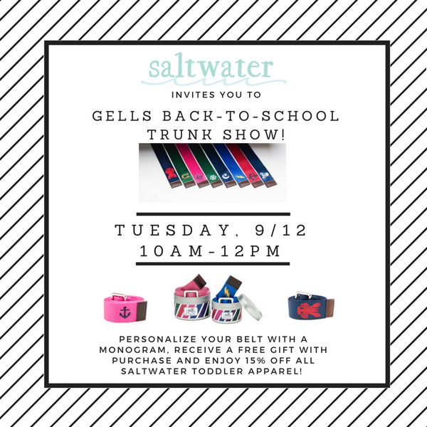 Shop Back-to-School with Gells!