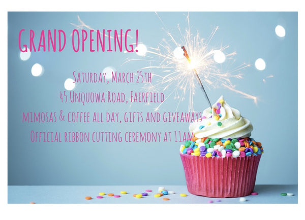 You're Invited: Saltwater Grand Opening Saturday, March 25th!