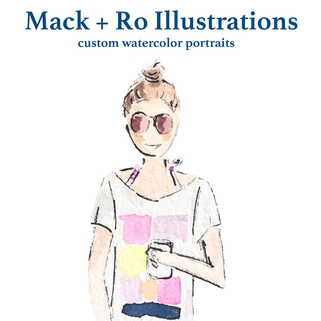 In Store Event: Custom portraits by Jen Scully from Mack + Ro!