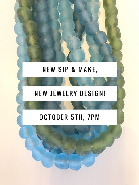 Grab your girls for our October Sip & Make!