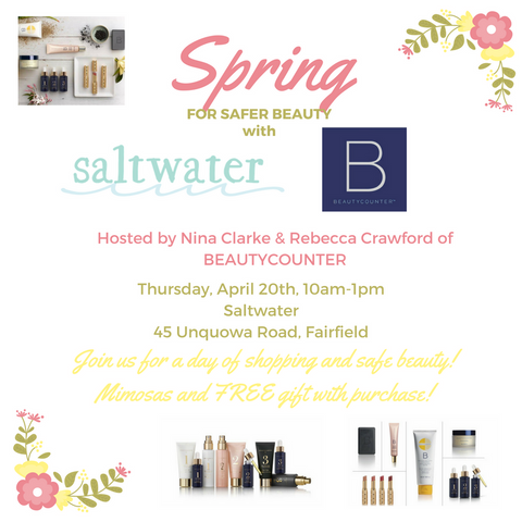 Beautycounter Event at Saltwater