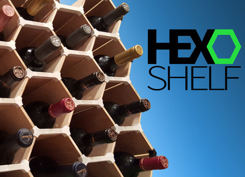 HEXOshelf comes to life!