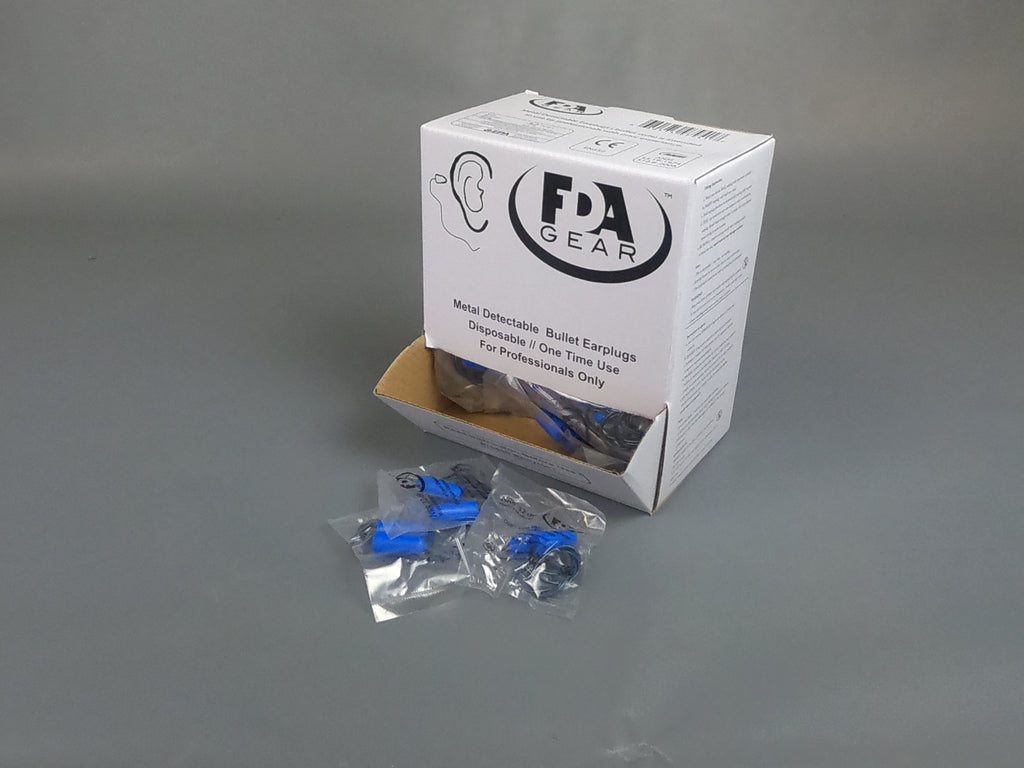 Ear Plugs Metal Detectable
