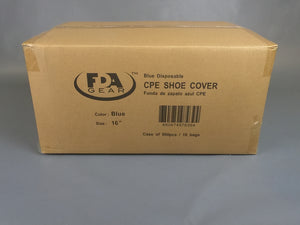 CPE Blue Shoe Covers 16""