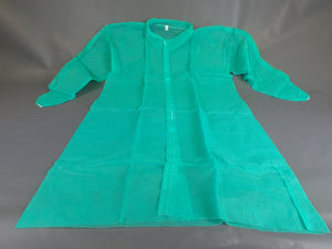 Lab Coats, Green, w/ Velcro Buttons