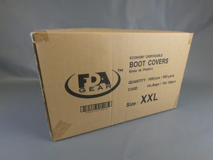 PE Boot Cover XXL / Clear