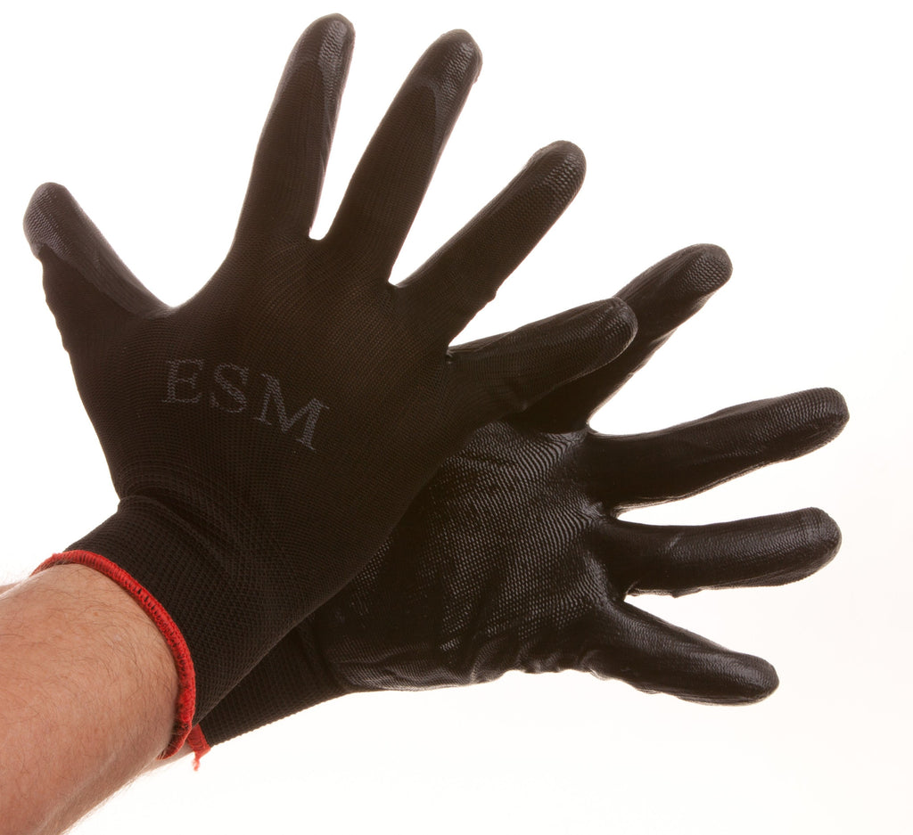 Work Economy Gloves Nitrile/ Nylon Bulk of 600 Pairs