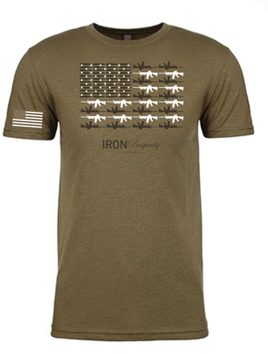 2nd Amendment Tee - OD Green
