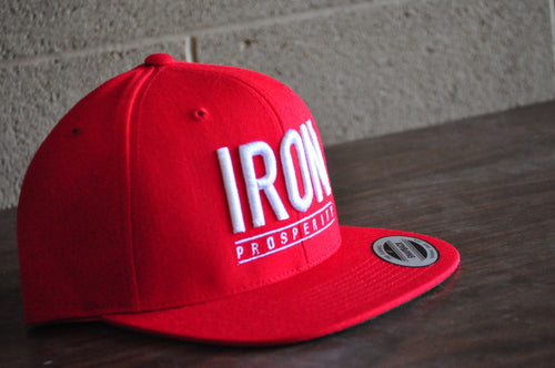 Conquer Series Snapback Red