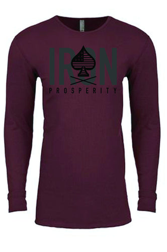 Conquer Thermal - Maroon