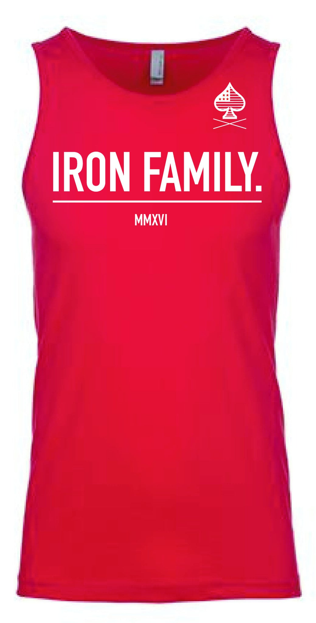 Iron Family Tank - Red