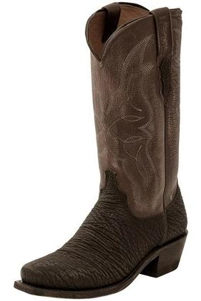 LUCCHESE MEN'S M3105 - CARL WESTERN BOOT (FREE SHIPPING)