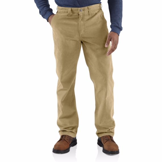 CARHARTT RUGGED WORK KHAKI PANT MEN'S RELAXED FIT 100095 TAN