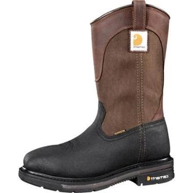 Carhartt Men's 11 Mud Wellington SQ Toe STL Work Boot CMP1258 (FREE SHIPPING)