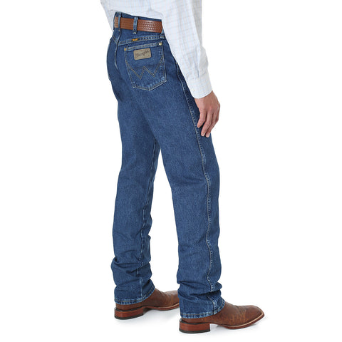 Wrangler 13MGS George Strait Cowboy Cut® Original Fit Jean Goerge Straight Dark
