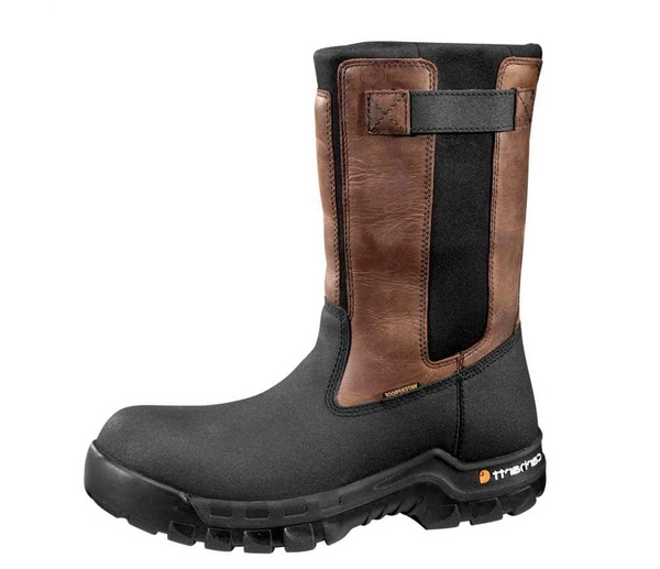 Carhartt Men's Rugged Flex Waterproof Pull-On Boot CMF1391